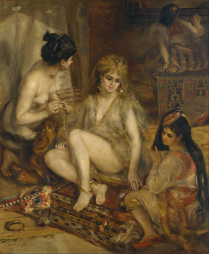 Renoir_-_Parisiennes_in_Algerian_Costume_or_Harem_-_Google_Art_Project