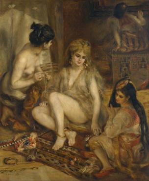 Renoir_-_Parisiennes_in_Algerian_Costume_or_Harem_-_Google_Art_Project