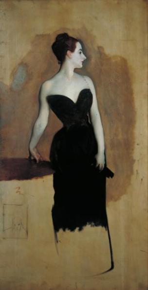 Study of Mme Gautreau c.1884 by John Singer Sargent 1856-1925