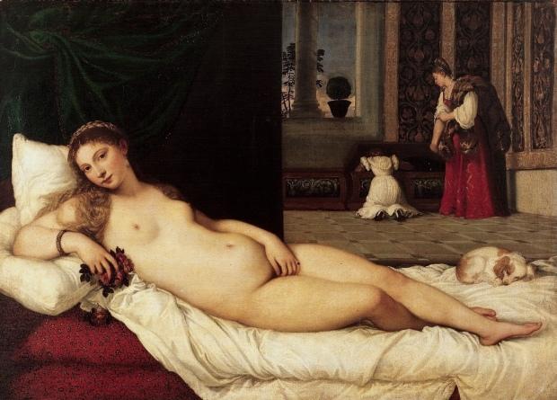 Titien Venus d Urbin 1534 Musee des Offices Florence
