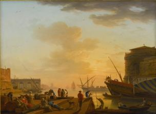 Vernet 1752 Le matin Collection privee