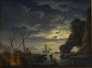 Vernet 1752 Le soir Collection privee