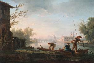 Vernet 1757 Les quatre heures du jour Le matin Art Gallery of South Australia, Adelaide