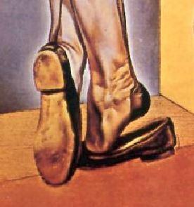 dali jeune-vierge-autosodomisee-par-les-cornes-de-sa-propre-chastete-1954 pieds