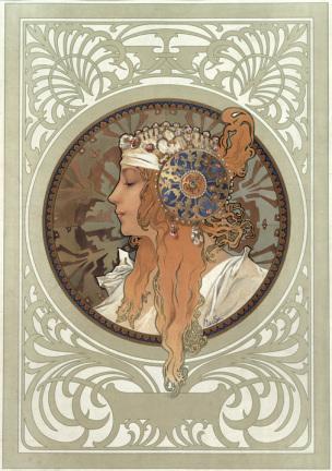 mucha tete byzantine blonde 1897