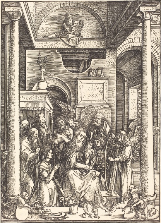 Albrecht_Durer_-_The_Glorification_of_the_Virgin_(NGA_1943.3.3592) 1511