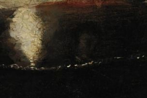 Caravage 1597 Bacchus detail couleur