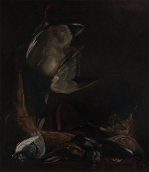 Carolus Duran Nature morte aux gibiers 1866 Coll privee