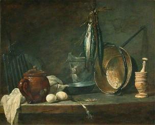 Chardin 1731 Le menu de maigre louvre