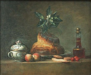 Chardin 1763 La brioche Louvre