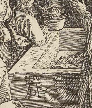 Durer 1510 Assomption et couronnement de la Vierge goupillon