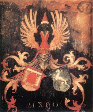 Durer Blason 1490, Musee des Offices