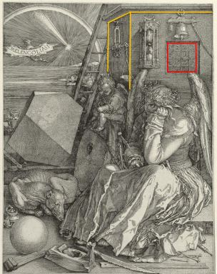 Durer Saint Jerome Melencolia differences 1