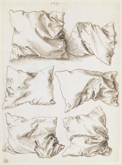 Durer Six pillows 1493