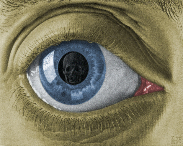 Escher 1946 eye