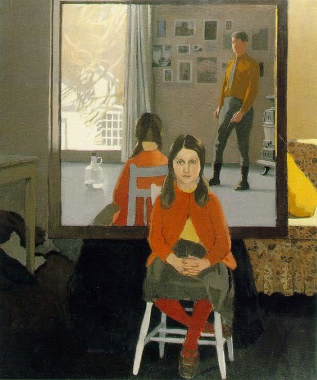 Fairfield Porter The Mirror 1966
