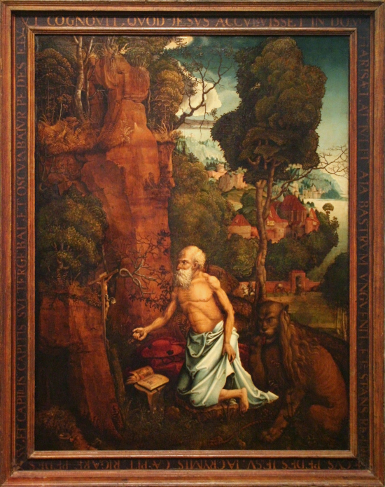 Hans_Durer_-_The_Penitent_St_Jerome_in_a_landscape