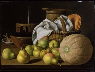 Melendez 1772 ca Still Life with Still Life with Melon and Pears Museum of Fine Arts, Boston