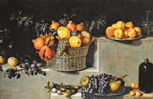 Van der Hamen 1629 Still_Life_with_Fruit and Glassware Williams College Museum Williamstown