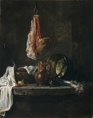 chardin 1731 Nature morte au carre de mouton Musee des Beaux Arts Bordeaux