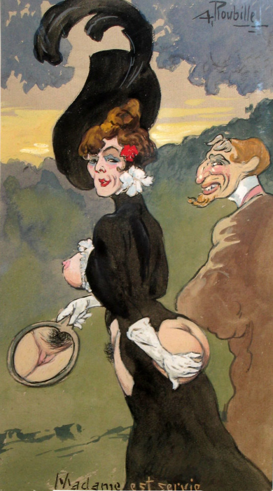 Madame est service Auguste Roubille