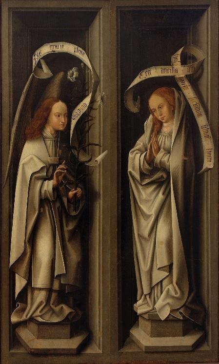 Annonciation avec Joseph XVeme Museo Correr Venise 1