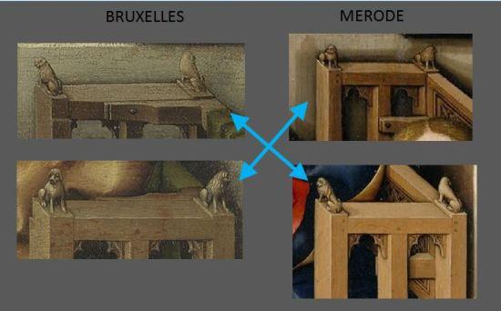 Bruxelles-Merode Comparaison Bancs