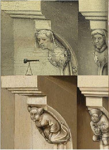 Bruxelles-Merode Comparaison Figurines