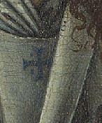 Bruxelles detail croix ange