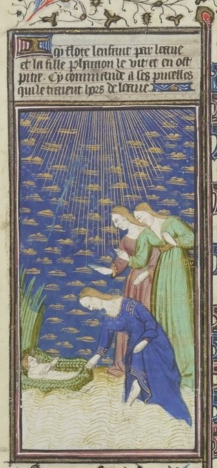 Grandes Heures de Rohan 1430-35 f133v detail livre