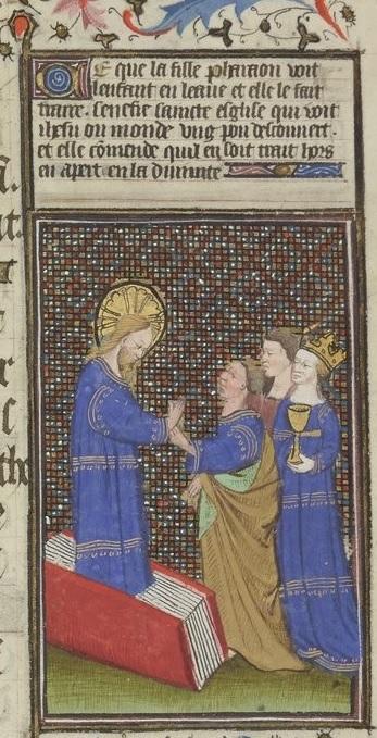 Grandes Heures de Rohan 1430-35 f134r Gallica detail livre