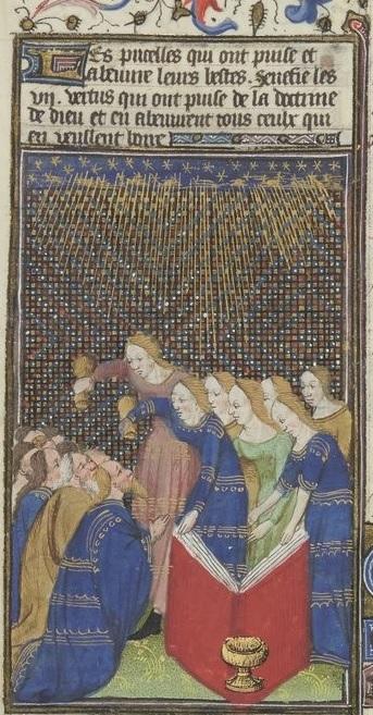 Grandes Heures de Rohan 1430-35 f141v Gallica detail livre