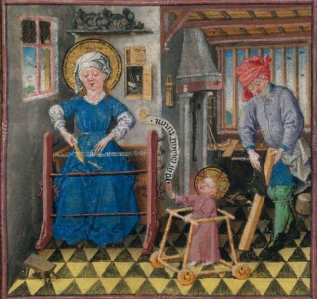Heures de Catherine de Cleves MS M.917, pp. 146–149
