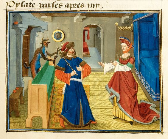 Loyset Liedet Mystere de la Vengeance 1465 British Library