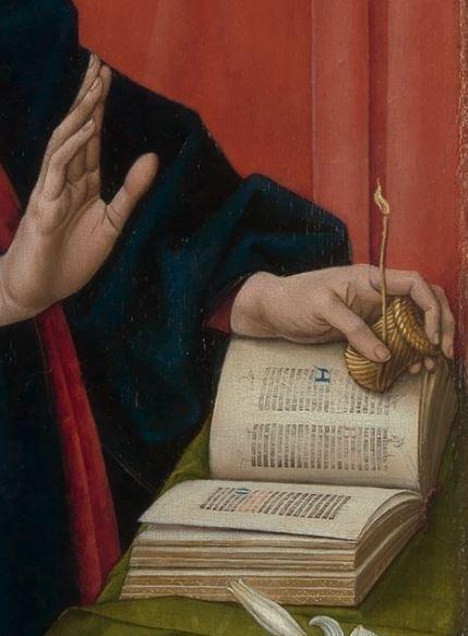 Memling Annunciation 1465-70 MET