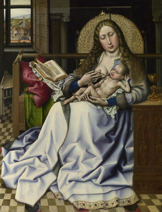 Robert_Campin_-_The_Virgin_and_Child_before_a_Firescreen_(National_Gallery_London)