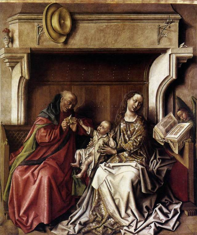 Saint Famille Clasisses Puy Bartemely d'Eyck 1432