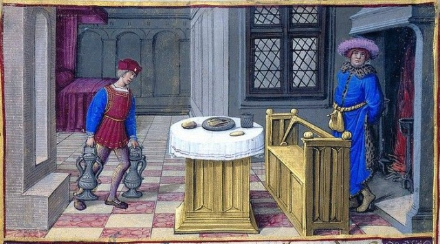 jean poyer february tours 1500 morgan library MS H 8 folio 1v