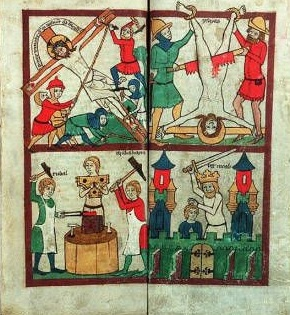 Martyre Isaie Speculum humanae salvationis