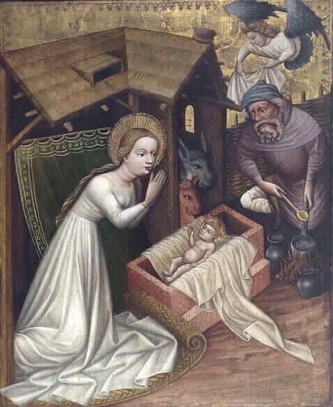 Nativite Meister von St. Sigmund, um 1440, Wallraf-Richartz-Museum, Köln