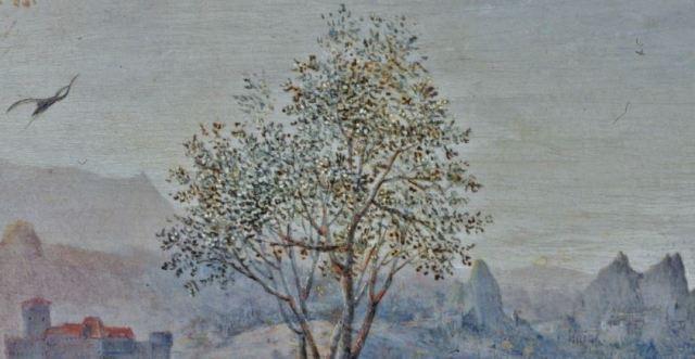 Brueghel 1568 Die_Elster_auf_dem_Galgen Musee regional de la Hesse, Darmstadt heron