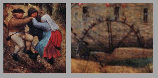 Brueghel 1568 Die_Elster_auf_dem_Galgen Musee regional de la Hesse, Darmstadt trio 2B