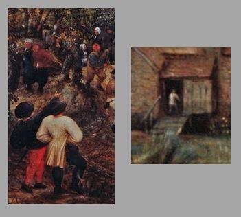 Brueghel 1568 Die_Elster_auf_dem_Galgen Musee regional de la Hesse, Darmstadt trio 3B