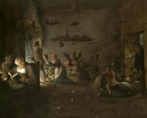 David Teniers II, Vertrek naar de sabbat, ca. 1640-50 Musee de Poitiers