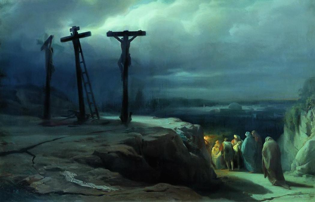 Descent From the Cross by Wassilij Petrovich Wereschtschagin
