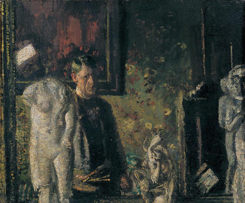 Sickert 1907 The painter in his studio