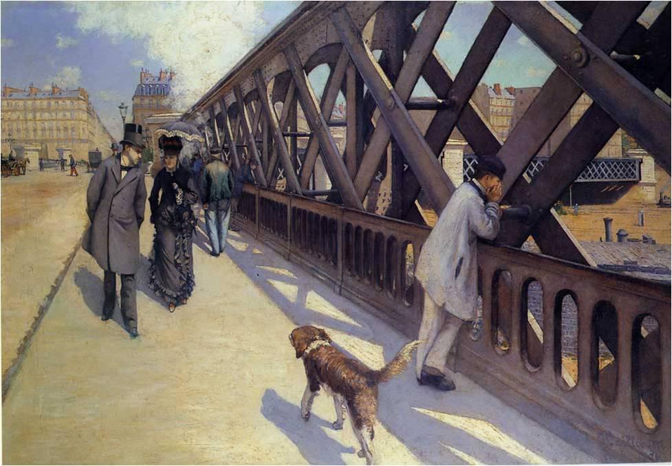 Caillebotte Pont de l'Europe