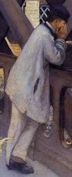 Caillebotte Pont de l'Europe Peintre