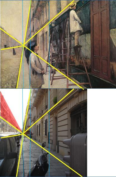 Caillebotte Peintres en bâtiment Perspective