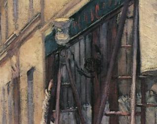Caillebotte Peintres en bâtiment Lampadaire